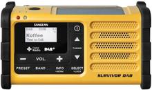 Sangean Dynamoradio for DAB+- og FM-signal