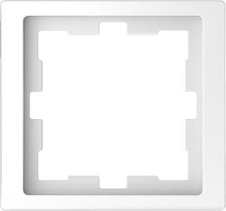 Schneider Electric MTN4010-6535 Kombinasjonsramme 1-roms, t-plast Lotus, hvit