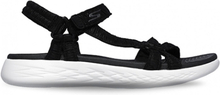 Skechers Woman Sandal On The Go Frills Black White