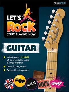 Lets Rock guitar Start Playing Now! lærebok