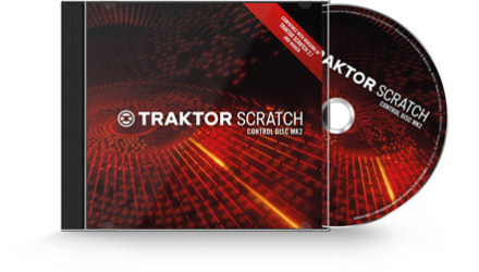 Native Instruments Traktor Scratch Pro Control-CD'er MK2