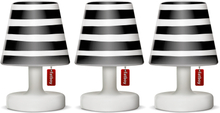 Mini cappie set Mr Black Stripe 3-pack