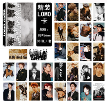 30Pcs/set SGDOLL Korea KPOP EXO Photocard New Fashion LOMO Card DON'T MESS UP MY TEMPO Fans Gift Collection Card Books