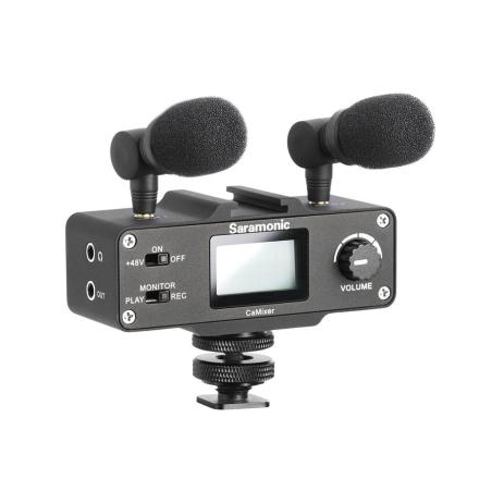 Saramonic CaMixer mixerog mikrofonertilkamera