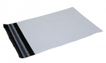 Forsendelsesposer PE A3 hvid 340x420mm 100stk/pak