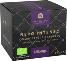 Luomu Nero Intenso Kahvikapselit 57g - 63% alennus