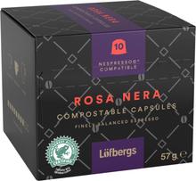 "Kahvikapselit ""Rosa Nera"" 57g - 38% alennus"