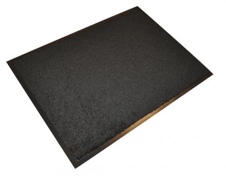 Måtter Serie 592 sort PP 60x80cm