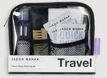 Jason Markk Skovård Travel Kit Grå