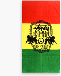 Stussy - Hold The Medz Towel - Multi - ONE SIZE