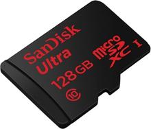 128GB SanDisk Ultra MicroSDXC UHS-I 80MB/s Class 10, SDSQUNC-128G-GN6MA