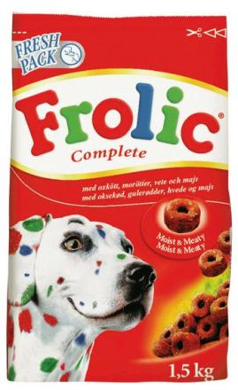 Frolic, Oxkött, 1,5 kg