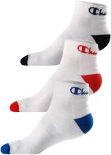 Trójpak skarpetek Champion Ankle - niskie białe