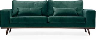 STOCKHOLM 3-sits soffa Velvet Edition Grön   Soffor