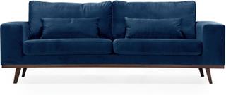 STOCKHOLM 3-sits soffa Velvet Edition Blå   Soffor