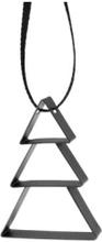 Stelton Figura ornament, juetre, liten soft black 5cm
