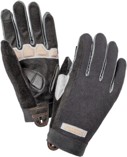 Hestra Bike Guard Long 5 Finger Gloves svart 6 2018 Mössor, Handskar & Värmare för cykling