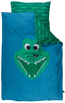 Økologisk Baby sengetøj - Freds World - 70x100 cm - Krokodille - Home-tex