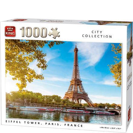 Eiffel Tower, Paris, France 1000 brikker