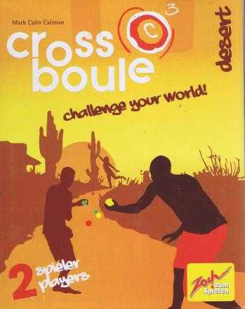 Cross boule, Desert