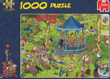 The Bandstand, 1000 brikker