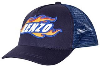 Kenzo Navy Kenzo Flame Baseball Cap 2-4 years