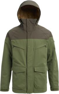 Burton Men's Burton Breach Insulated Jacket Herr Skidjacka Grön XL