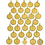 Charmentity guldbokstäver - B