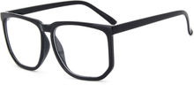 Svarta stora retro glasögon klarglas klart glas utan styrka 9ccc2c4c20a4a