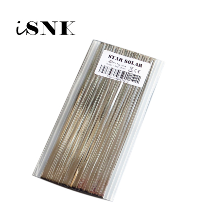 20m 66ft 1.80x0.16mm solar cells tab bus bar wire for PV Ribbon Tabbing wire for DIY connect Strip Solar panel