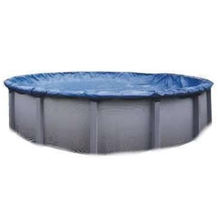 Swimline S15RD 15' vinter runde over bakken svømmebassenget dekk blå
