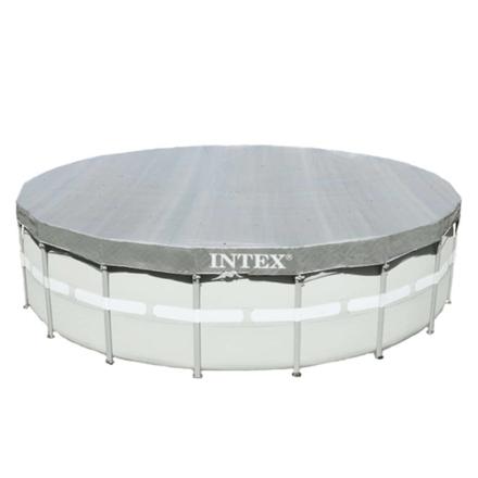 Intex Bassengtrekk Deluxe rund 549 cm 28041