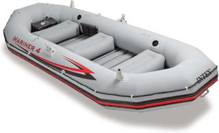 Intex oppustelig båd Mariner 4 328 x 145 x 48 cm 68376NP