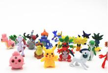 Pokémon figurer 48 st. högsta kvalitet! alla set inneh pikachu