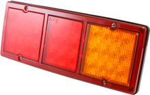 LED Bakljus - 3-Kammare