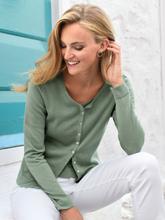 Twinset aus 100% SUPIMA®-Baumwolle Peter Hahn grün