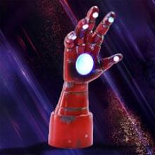 Marvel Iron Man Table Top Arm Lamp