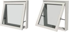 PVC Topphengslet og utadslående vindu