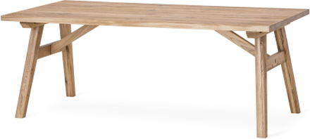 Baron matbord Rustik ek 240x94 cm