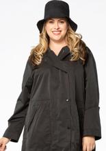 Rain hat Unique black
