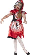 Zombie tjej maskeraddräkt