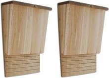 vidaXL Fladdermusholk, 22 x 12 x 34 cm, 2-Pack