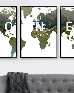verdenskort groen