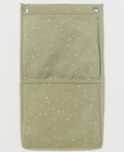 H & M - Veggoppbevaring i canvas - Grønn