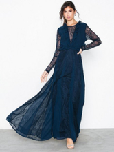True Decadence Lace Sleeve Midi Dress