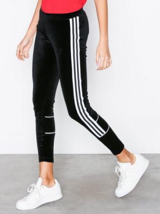 Adidas Originals Velour Tights Svart