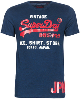 Superdry T-shirts m. korte ærmer SHIRT SHOP DUO TEE Superdry