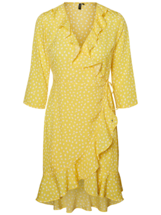 VERO MODA Henna Dress Women Yellow