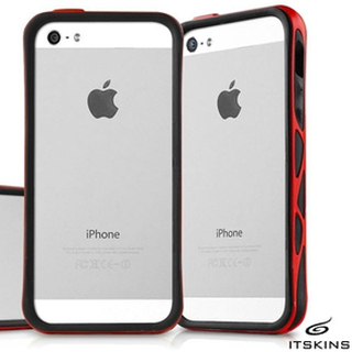 Itskins venum bumper skal till apple iphone 5 / 5s / se (red