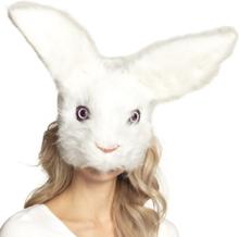 Kanin plys maske - voksen